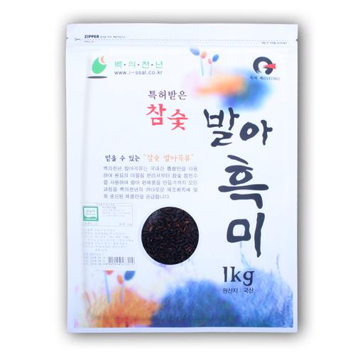 무농약 발아흑미 1kg