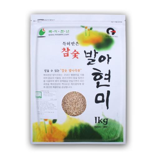 무농약 발아현미 1kg