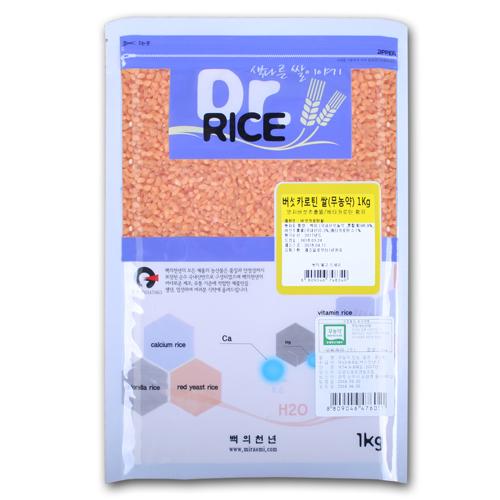 무농약 버섯카로틴쌀 1kg