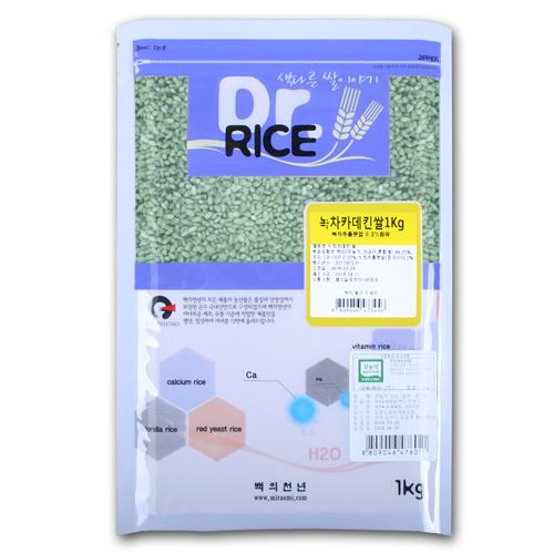 무농약 녹차카데킨쌀 1kg