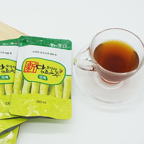 [正品 완주 모악산]당조고추 진액30봉