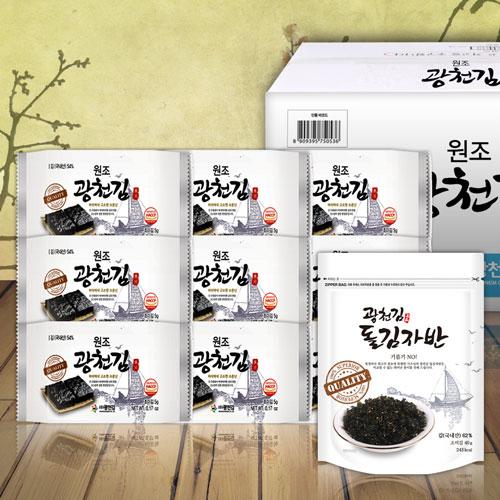 원조광천김 도시락78봉+김자반3봉